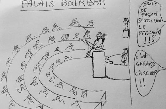 dessin alain palais bourbon