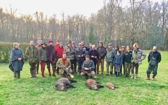 Photo chasse Epinat