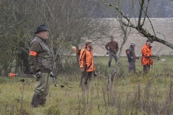X Péchenart - Chambord - Lièvres Nov 2017